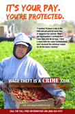 Farm Workers - It's your pay, You're protected.